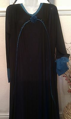 ladies Islamic Abaya Dress Jubba Jilbab size 54