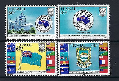 Tuvalu 1984 SG 269-272 Ausipex Stamp Exhibition MNH POST FREE TO THE UK.