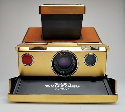Polaroid SX-70 Land Camera Alpha 1 GOLD