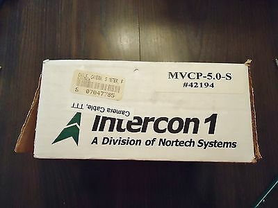 New Interon 1 5 Meter Camera Cable Part# Mvcp-5.0-S #42194.