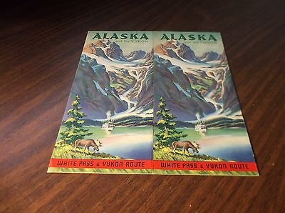 1930's WHITE PASS & YUKON ROUTE SYSTEM ROUTE GUIDE