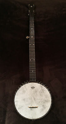 Early 1900's Vega Banjo open back banjo great early sound for parts or restore