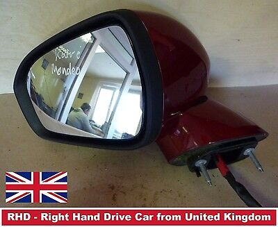 Ford Mondeo, DS7317682, Electric wing door mirror Passenger, left side (2015)