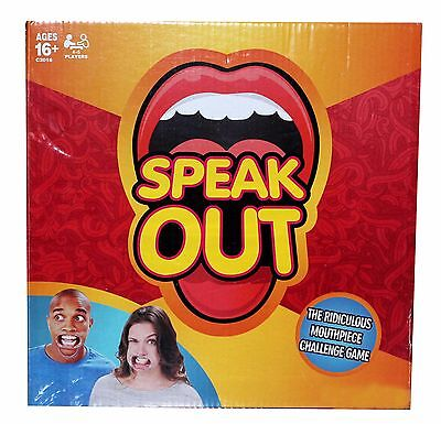 Stock Brand New Speak Out Game Board Party Game Official Uk Fast Dispatch Xmas