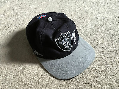 Official NFL Raiders Authentic Proline Cap- Good Condition- American Football