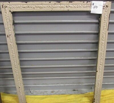 Antique Victorian Iron  Fireplace Surround W/o Cover Compare Prices Estate # 110