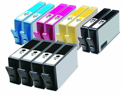 12pk NON-OEM HP 564XL Pack Ink Set + CHIP for HP 564XL Photosmart 7510 7515 7520