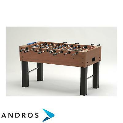 GARLANDO F-5 football table - solid rods Brown