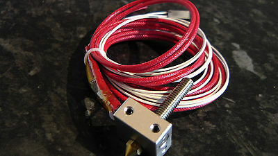 heater block assembly + nozzle and throat 12v , 3d printer parts