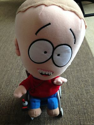 RARE OFFICIAL SOUTH PARK TIMMY BURCH PLUSH SOFT TOY no tags