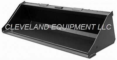 "NEW 66"" SD LOW PROFILE BUCKET Skid-Steer Loader Attachment Bobcat Caterpillar nr"