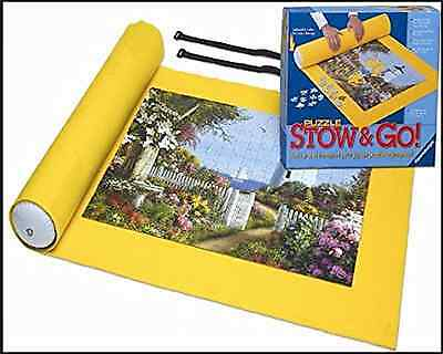"""Ravensburger Giant Stow and Go Puzzle Mat Storage System - Yellow 46""""x26"""""""