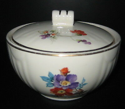 Floral Drip Jar made by Hall China