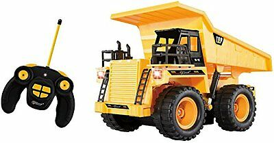 RC Dump Truck with Lights and Sound 5 Channel Fully Functional