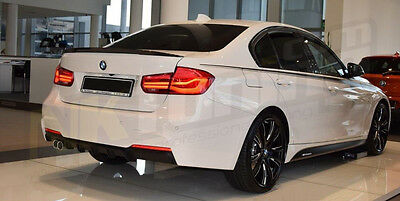 BMW F30 MSport - Performance - Rear Diffuser for Double Exhaust Pipe