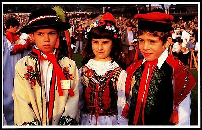 Papal Visit 1982 Welcome From  Polish Children Costume