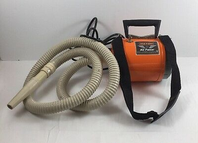Metro Air Force AF-1 Pet Dog Cat Grooming Dryer *Works Great See Note*