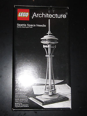 Seattle Space Needle LEGO Architecture 21003 NEW Ships Same Day Boxed