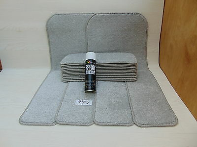 Stair pads / treads 16 off  and  2  Big Mats with a FREE can of SPRAY GLUE 974-1