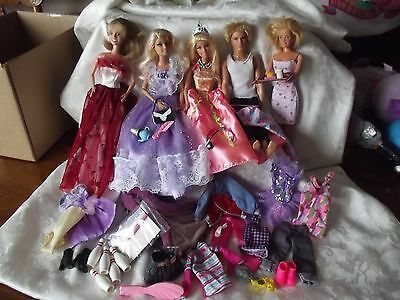 Barbie  & Ken Doll with Clothing, & Accessories  ~LOT~