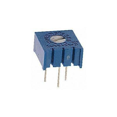 2 x Bourns 3386P-1-202LF, Trimmer Resistor with Pin Terminations, 2kΩ ±10% 1/2W