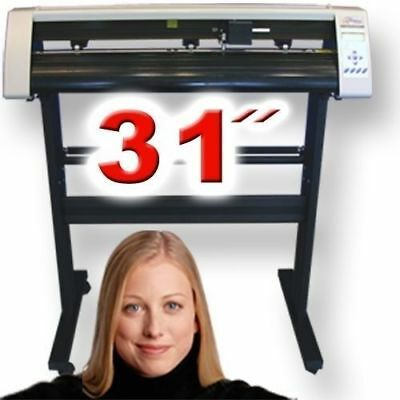 Great Starter Pkg Powerful Reliable Vinyl Cutter w/Software Vinly Sign Plotter