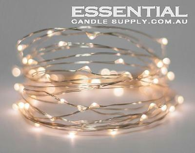 Silver Wire Fairy Lights 2m - 20m | Warm light | LED