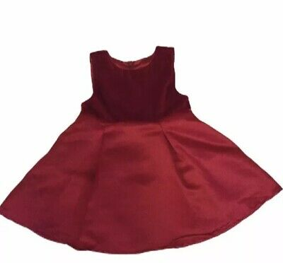 THE CHILDRENS PLACE Baby Girl 12M Red Dress CHRISTMAS Holiday