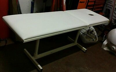 Commercial massage bed sturdy metal construction non folding table