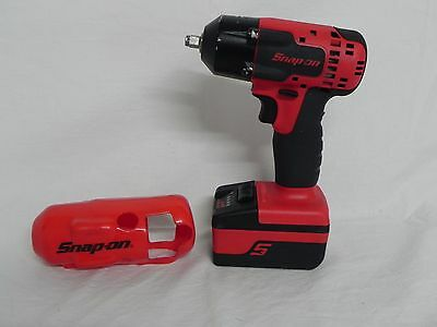 "Snap-On CT8810 3/8"" Drive 18v Cordless Lithium Ion Impact Driver,Battery,Boot"