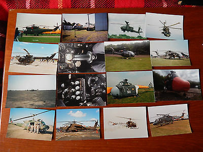 16X Vintage Military Helicopters Photos United States Royal Air Force Choppers