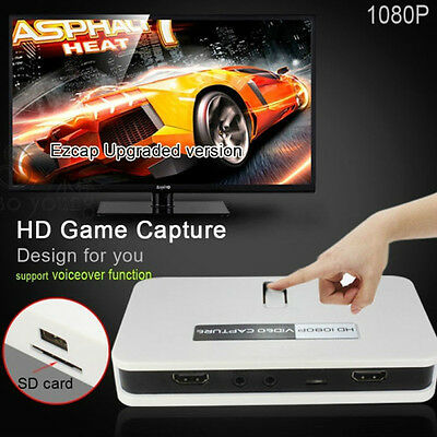 Ld Video game Capture recorder registrare Hdmi playstation xbox ps2 ps3 ps4 wii