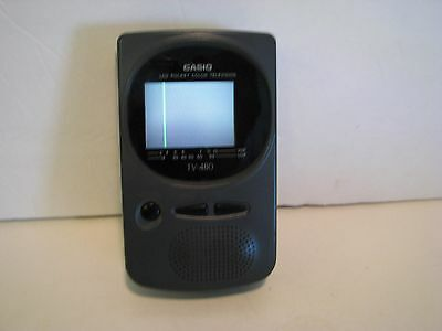 Casio Tv-480B Lcd Pocket Color Television