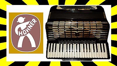 Hohner Imperator Iv Accordion With Case✓ Made In Germany✓