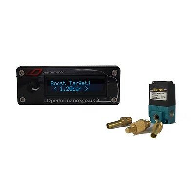 Electronic Boost Controller LDperformance with Solenoid, JDM, Turbo, OLED Gauge