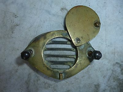 Antique DOOR SPY/PEEK HOLE Brass Italian Art Deco 1920's