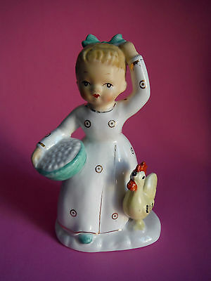 Japan / Shafford / Mother's Helpers Here Chick Figurine