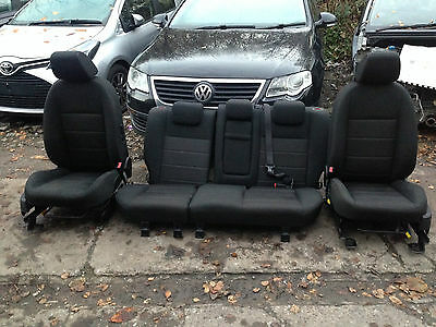 Ford Focus 2008 2009 2010 2011 Front And Rear Heated Seats Black