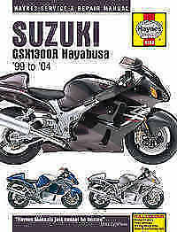 Suzuki GSX 1300 Haynes Manual Repair Manual Workshop Manual 1999-2004