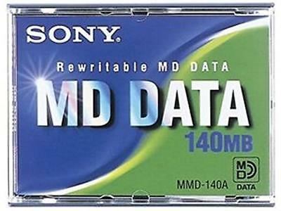 Pack of 5 Genuine Sony MMD-140A Rewritable Data Discs