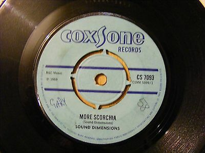 sound dimensions more scorchia 7'' UK COXSONE 1969 VERY RARE! CS7093
