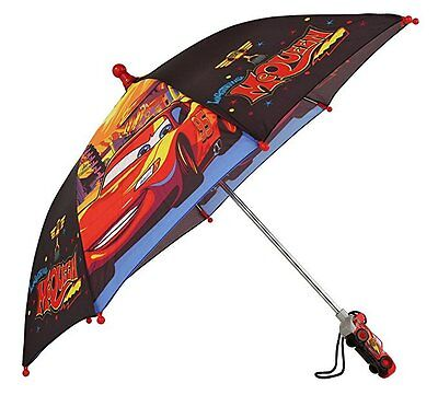 "Disney Cars Lightning Mcqueen ""Red and Black"" Umbrella"