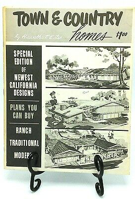 Hiawatha T Estes Town & Country 1966 Mid Century House / Home Plans California