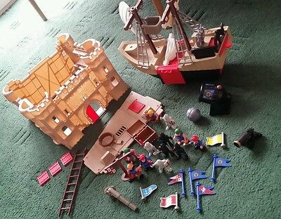 Castle Pirate Ship Playset + Figures
