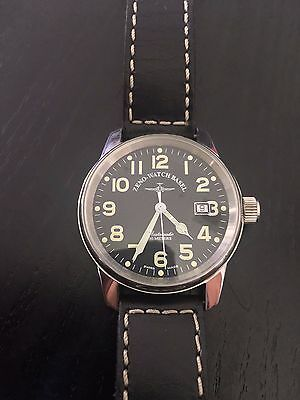 Zeno-Watch Basel - Classic Pilot Automatic with Leather Strap