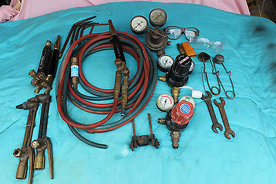 Oxy/Acetylene Cutting/Welding Set and Trolley
