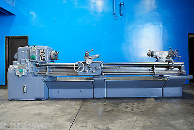 "16"" Swing x 102"" Center Monarch Engine Lathe Metal Turning Machine Taper 10HP"