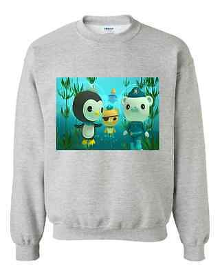 Super Cute Octonauts Sweatshirts choice of 8 designs, features characters & GUPs
