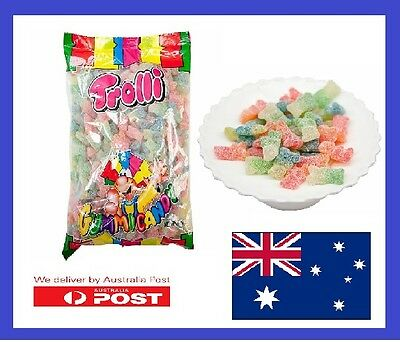 Gummy Bears Super Sours   Trolli   Candies Lollies X 2.0Kg