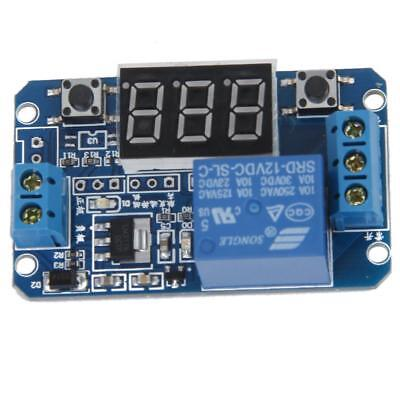 LED 3-Digits Digital Display Cycle Time Delay Relay Modulation Module 12V